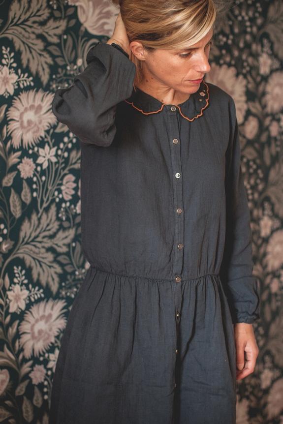 ROBE FEMME GISÈLE gris