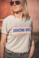 T-SHIRT DANCING QUEEN gris chiné