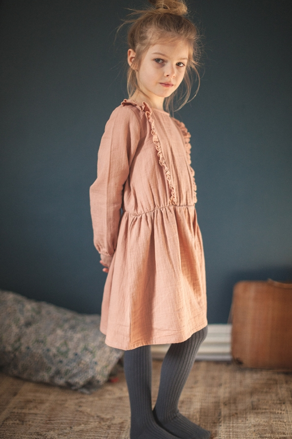 DRESS SUZON camel