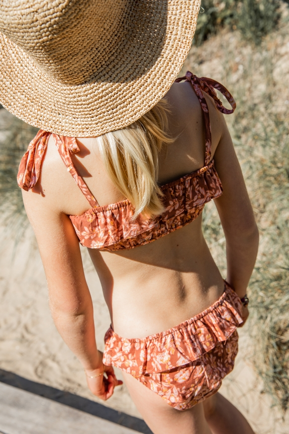 MARLOT x BINDI ATELIER Bikini Mishka sarika terracotta
