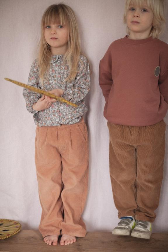 Gaby rosewood corduroy trousers