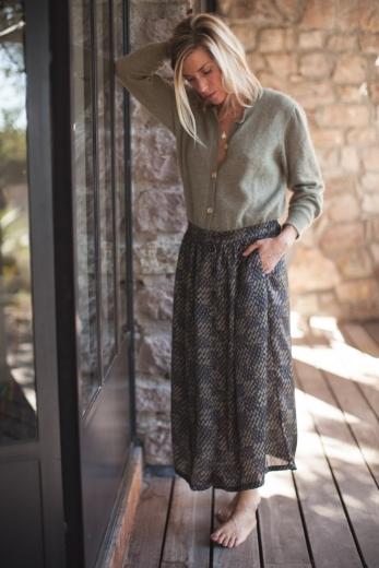Jupe femme Minette noir bronze
