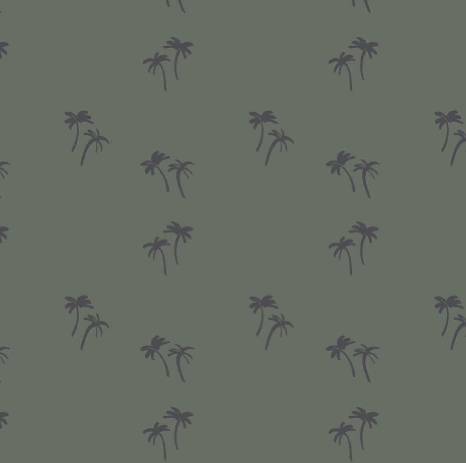 Eucalyptus green print