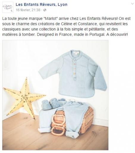 Marlot à Lyon chez Les Enfants Rêveurs